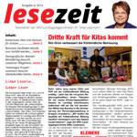 Newsletter Lesezeit Ausgabe Juni 2014