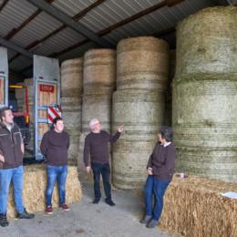 Besuch Landwirte