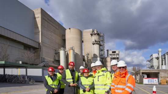 Besuch Zementwerk Hoever