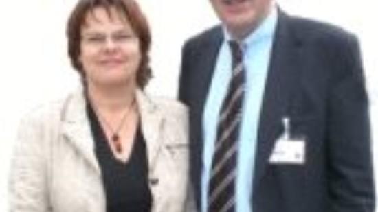Silke Lesemann und Wolfgang Jüttner